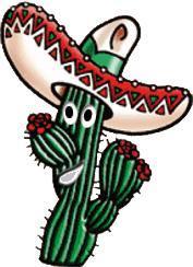 Kaktusz parazita a kaktuszon. Féregbol szarmazo kalium permanganat