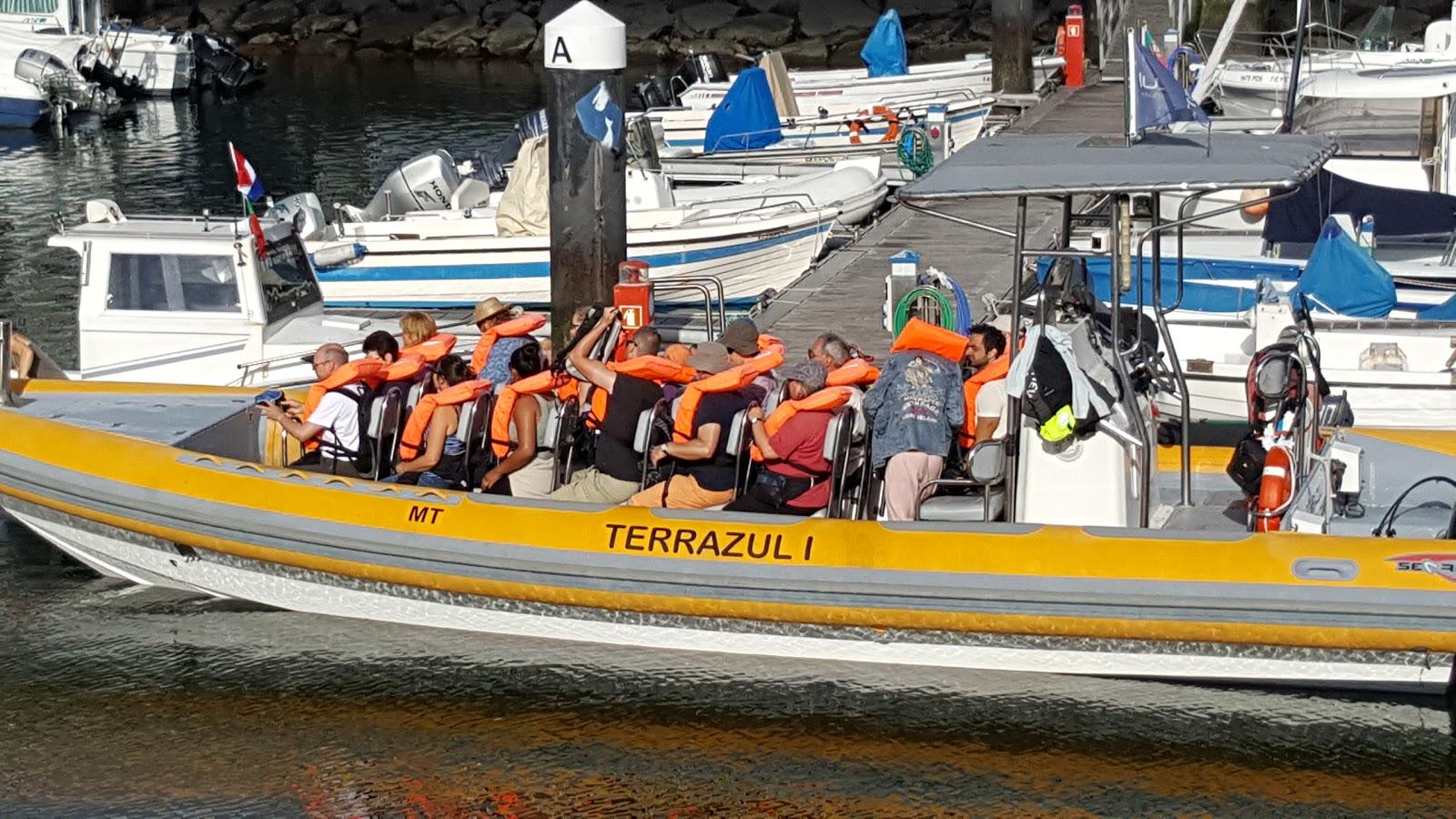 Galandféreg az Istra víztározón,