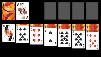 pasziánsz klasszikus játék 1 kártyával ingyenes | koolsol